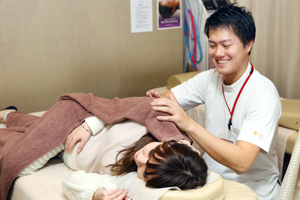 妊婦さんの施術
